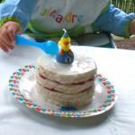 Tarta de primer cumpleaños/First birthday cake
