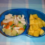 Pollo tricolor + mango / Tricolor chicken + mango