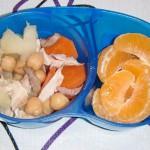 Bento de cocido / Chickpea stew bento
