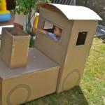 Tren de cartón / Cardboard train