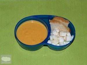 Bento de Crema de Zanahoria - Carrot Cream Bento
