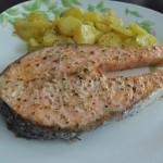 Salmón al Horno Fácil – Easy Baked Salmon