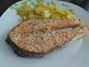 Salmón al Horno Fácil - Easy Baked Salmon