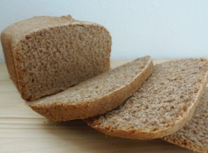 Pan  de espelta en panificadora - Spelt bread in bread machine