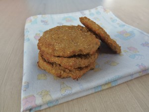 Galletas para bebés con 3 ingredientes - 3 Ingredient teething biscuits